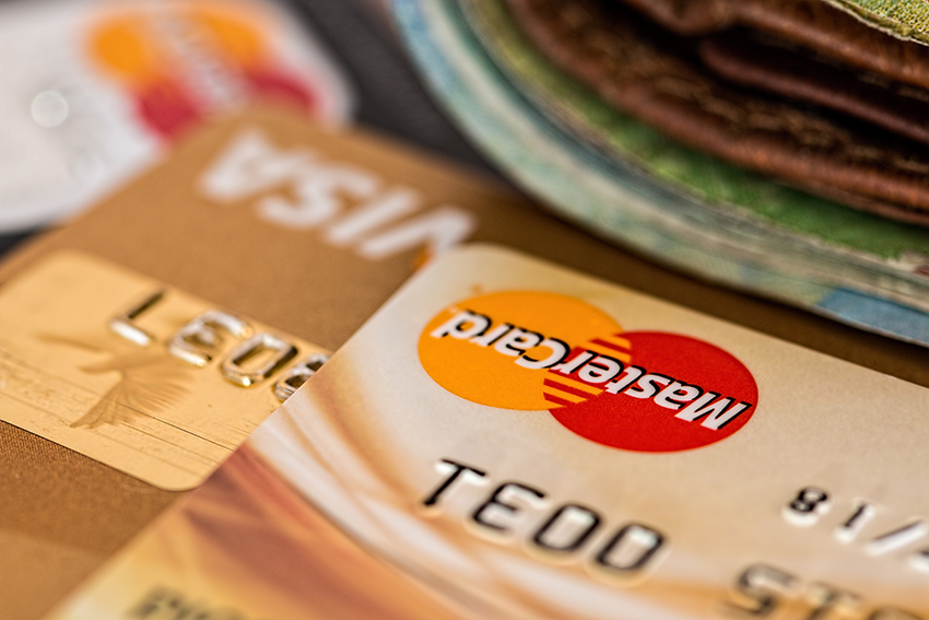 May Contain: Gold Visa and Mastercard credit cards that have fallen victim to identity theft.